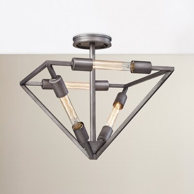 Cushendall 4-Light Semi Flush Mount
