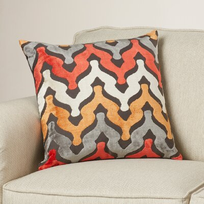 Portbraddon Velvet Throw Pillow