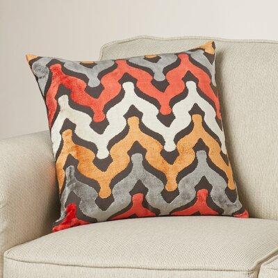 Portbraddon Velvet Throw Pillow