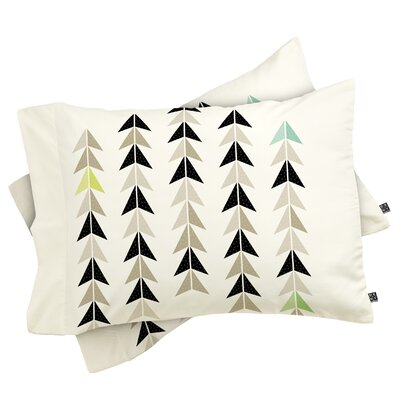Farlough El Catrin Single Pillowcase Size: King