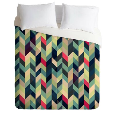 Frontage Arise Lightweight Duvet Cover Size: Full / Queen