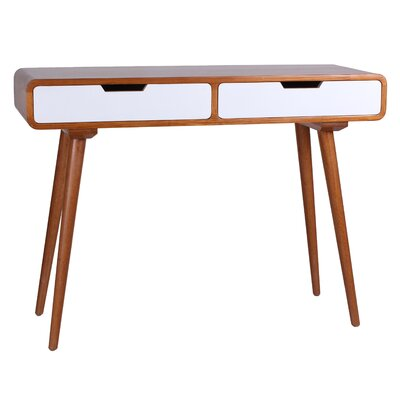 Daly Console Table Finish: White