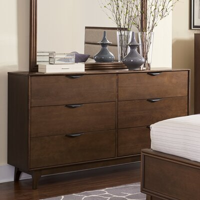 Alperton 6 Drawer Dresser