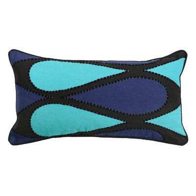 Racavan Cotton Lumbar Pillow