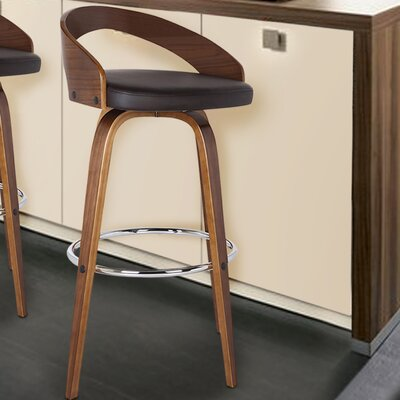 Maxime 26 Swivel Bar Stool