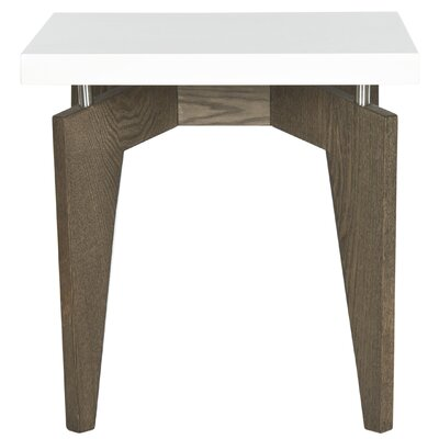 Kelly End Table Base Finish: Dark Brown