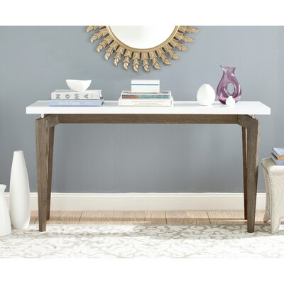 Kelly Console Table Finish: Dark Brown