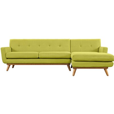 Saginaw Modular Sectional Upholstery: Wheat