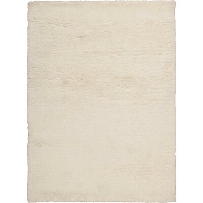 Annika Ivory Area Rug Rug Size: Rectangle 76 x 96