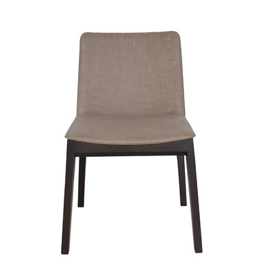 Dean Side Chair Upholstery: Grey / Brown
