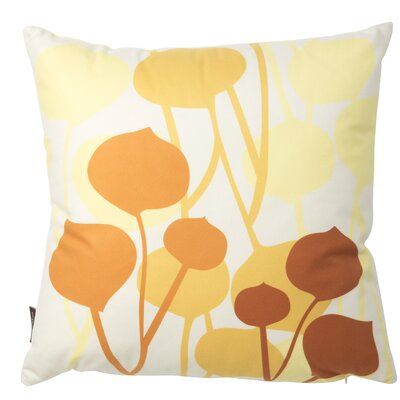 Paterson Seedling Graphic Throw Pillow Size: 18 H x 18 W, Color: Pale Yellow