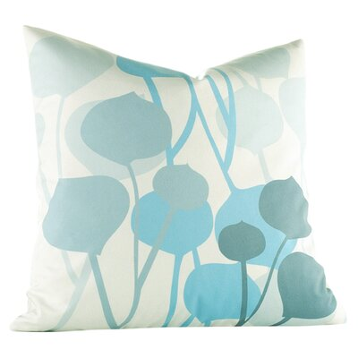 Paterson Seedling Graphic Throw Pillow Size: 18 H x 18 W, Color: Light Cornflower
