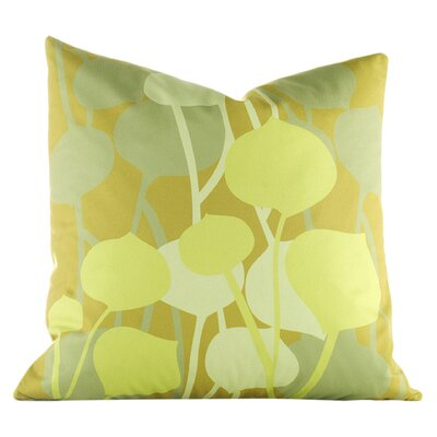 Paterson Seedling Graphic Throw Pillow Size: 18 H x 18 W, Color: Olive