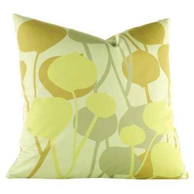 Paterson Seedling Graphic Throw Pillow Size: 18 H x 18 W, Color: Pale Green