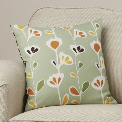 Paterson Seedling Graphic Throw Pillow Size: 18 x 18, Color: Grass