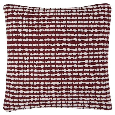 Williams Cotton Pillow Cover Color: Red