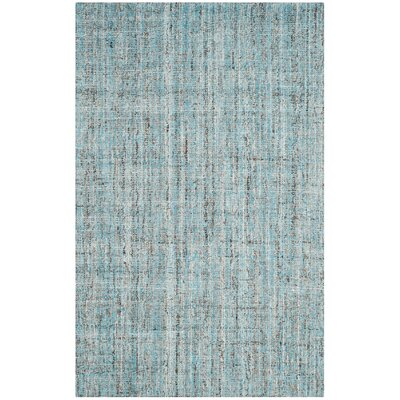 Drumnasole Hand-Tufted Blue/Gray Area Rug Rug Size: Rectangle 4 x 6