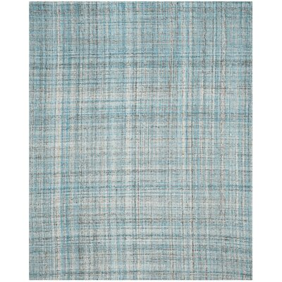 Drumnasole Hand-Tufted Blue/Gray Area Rug Rug Size: 8 x 10