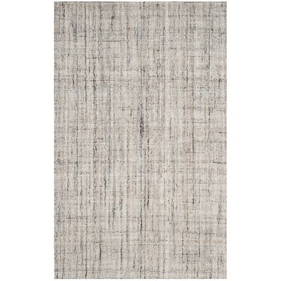 Berrysburg Hand-Tufted Camel / Black Area Rug Rug Size: Rectangle 4 x 6