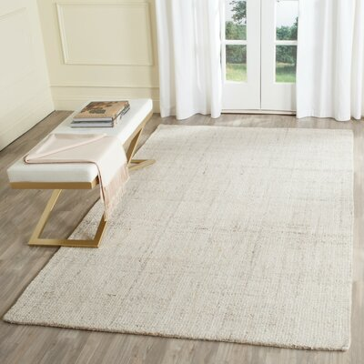 Muckamore Hand-Tufted Ivory Area Rug Rug Size: Runner 23 x 8