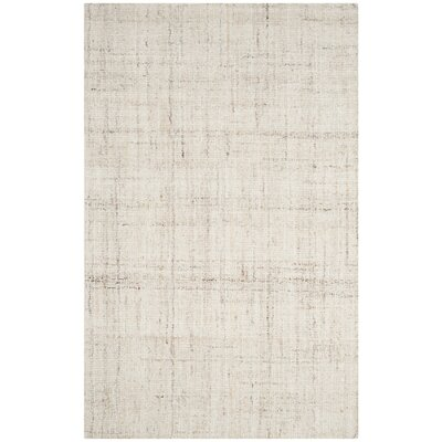 Muckamore Hand-Tufted Ivory Area Rug Rug Size: Rectangle 6 x 9