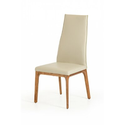 Clapham Parsons Chair Upholstery: Light Gray