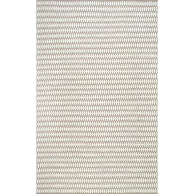 Ardagh Hand-Woven Ivory Indoor/Outdoor Area Rug Rug Size: Rectangle 76 x 96