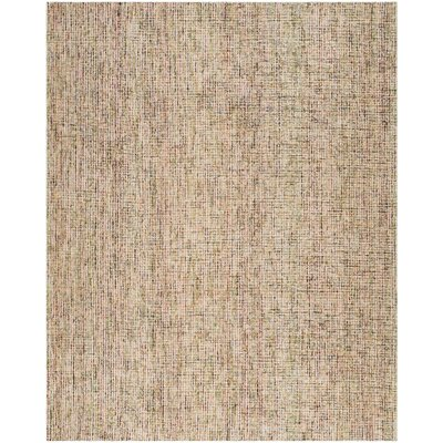 Madrona Hand-Tufted Beige Area Rug Rug Size: Rectangle 4 x 6