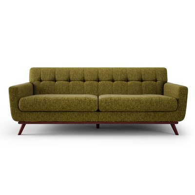 Jasper HIll Sofa Upholstery: Green