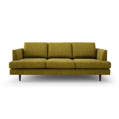 Jones Way Sofa Color: Green