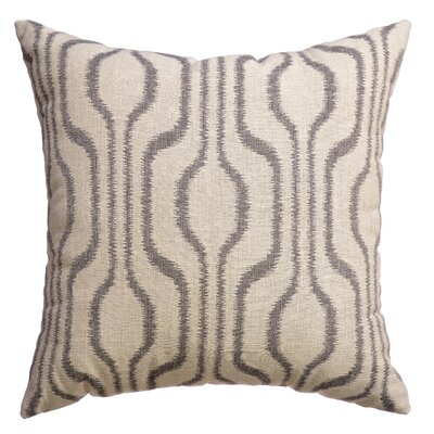 Lurganure Throw Pillow Color: Pewter
