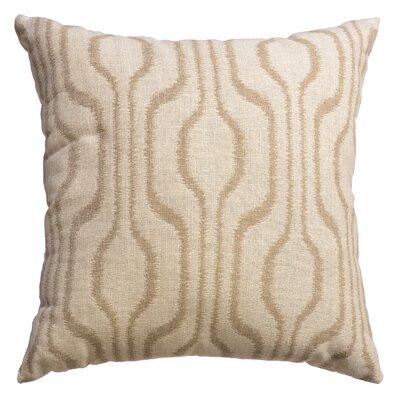 Lurganure Throw Pillow Color: Natural