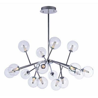 Ledo 16-Light Foyer Pendant Finish: Polished Chrome