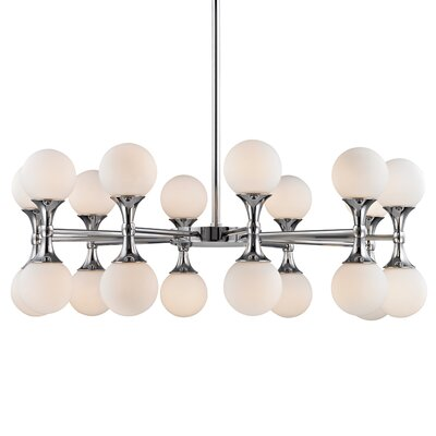 Escena 20-Light Sputnik Chandelier Finish: Polished Chrome