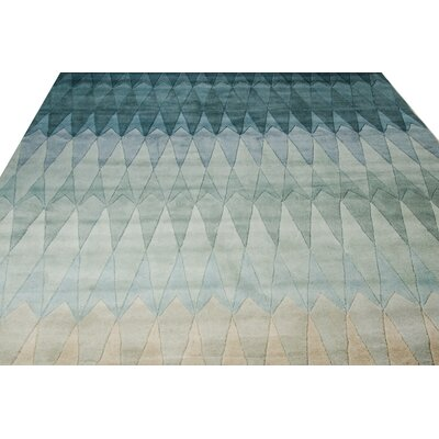 Ryder Hand-Tufted Blue Area Rug