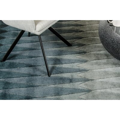 Ryder Hand-Tufted Gray Area Rug