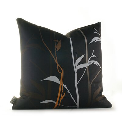 Paterson Prairie Throw Pillow Size: 13 x 24, Color: Charcoal and Rust