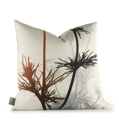 Paterson Prairie Throw Pillow Size: 13 x 24, Color: Rust and Charcoal