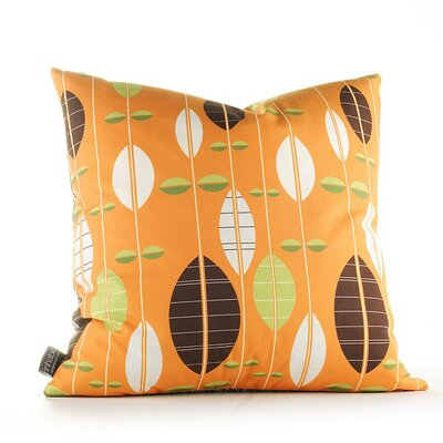 Paterson Carousel Throw Pillow Size: 18 H x 18 W, Color: Sunshine