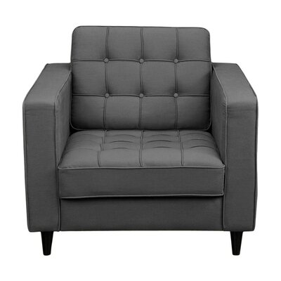 Armchair Upholstery: Dark Grey