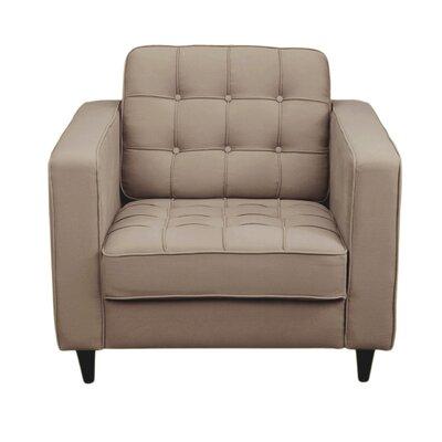 Arm Chair Upholstery: Light Grey