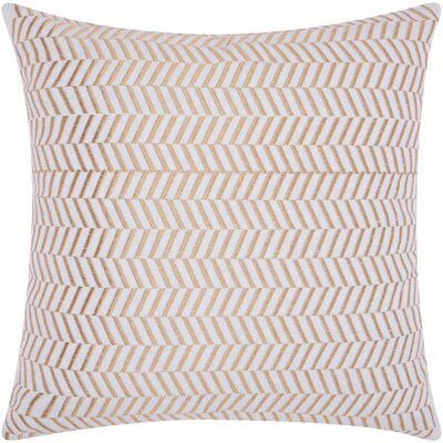 Newman Alternative Chevron Throw Pillow Color: Gold