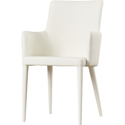 Sherwood Arm Chair Upholstery: White