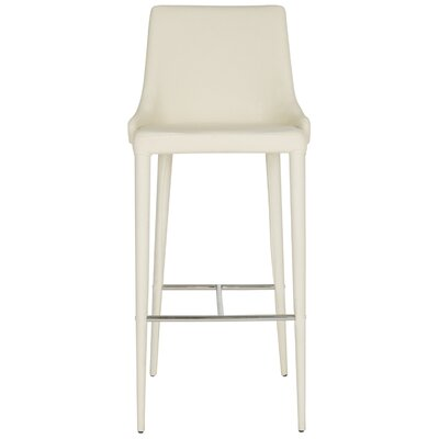 Sherwood Bar Stool Upholstery: Beige