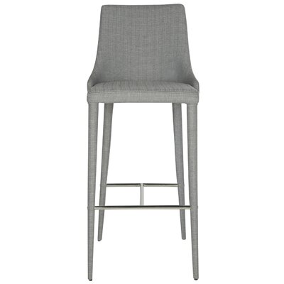 Sherwood Bar Stool Upholstery: Gray