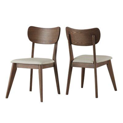 Leominster Side Chair Finish: Walnut