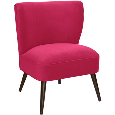 Payton Curved Side Chair Color: Sangria