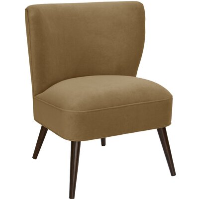 Payton Curved Side Chair Color: Sand