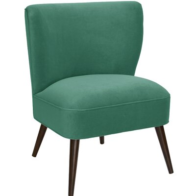 Payton Curved Side Chair Color: Laguna