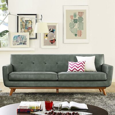 Pompey Leather Sofa